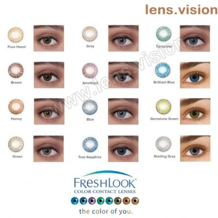 Freshlook Colorblends Color Lenses (2 Lens per Box) 12 colors option available