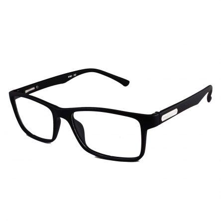 TR90 matte black rectangle extra large