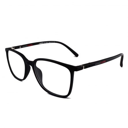 TR90 thin square thing matte black large