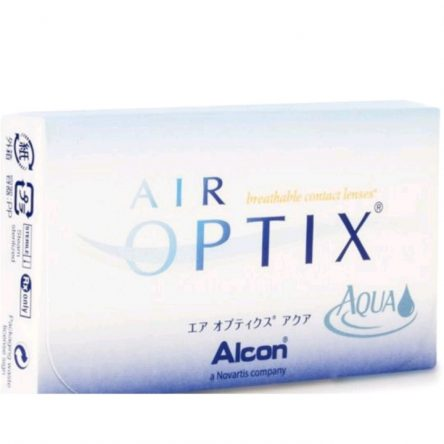 Ciba vision air optix aqua from Alcon (6 lenses/box)